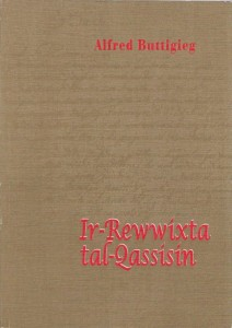 Ir-Rewwixta tal-Qassisin, book cover